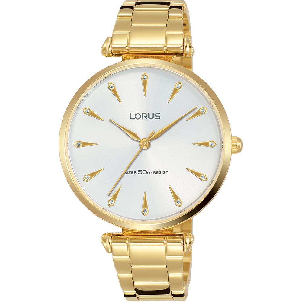 Lorus RG240PX-9 Gold Tone Womens Watch