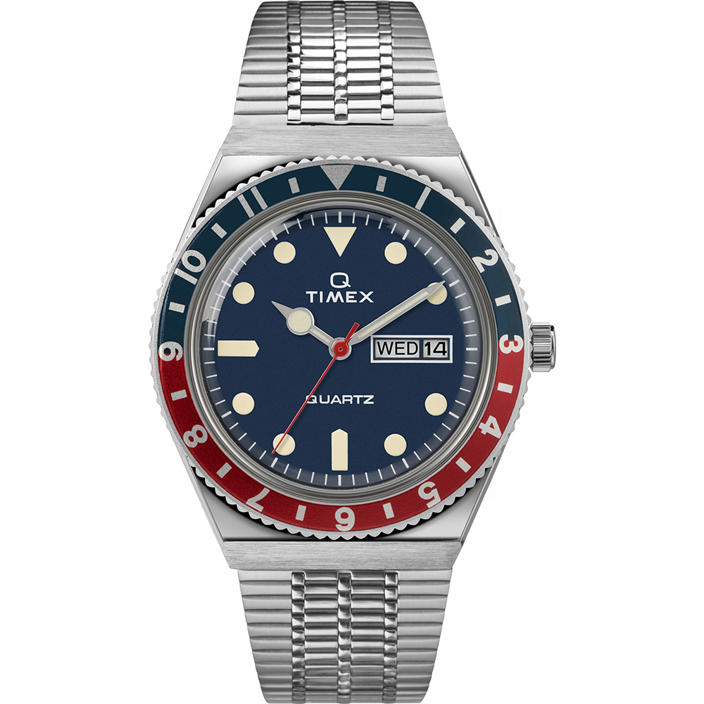 Timex Q TW2T80700 Stainless Steel Mens Watch