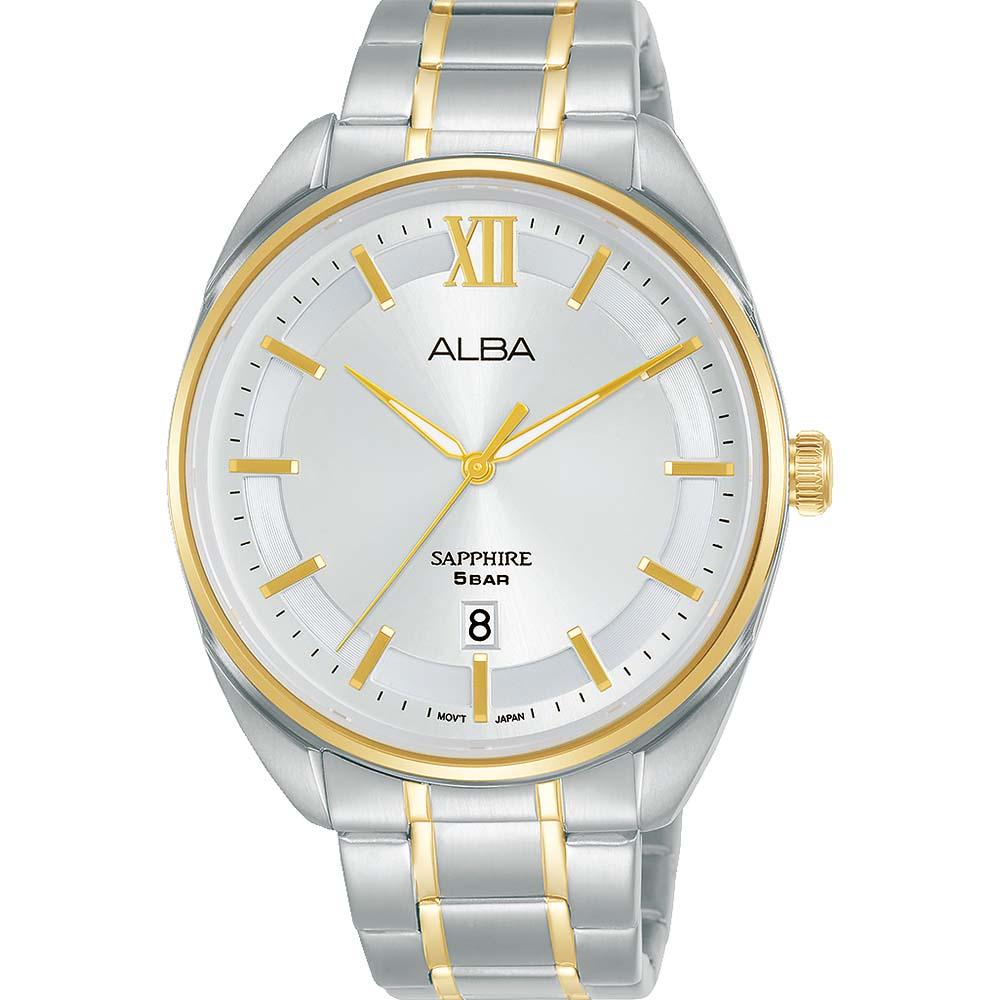 Alba AS9M48X1 Two Tone Mens Watch