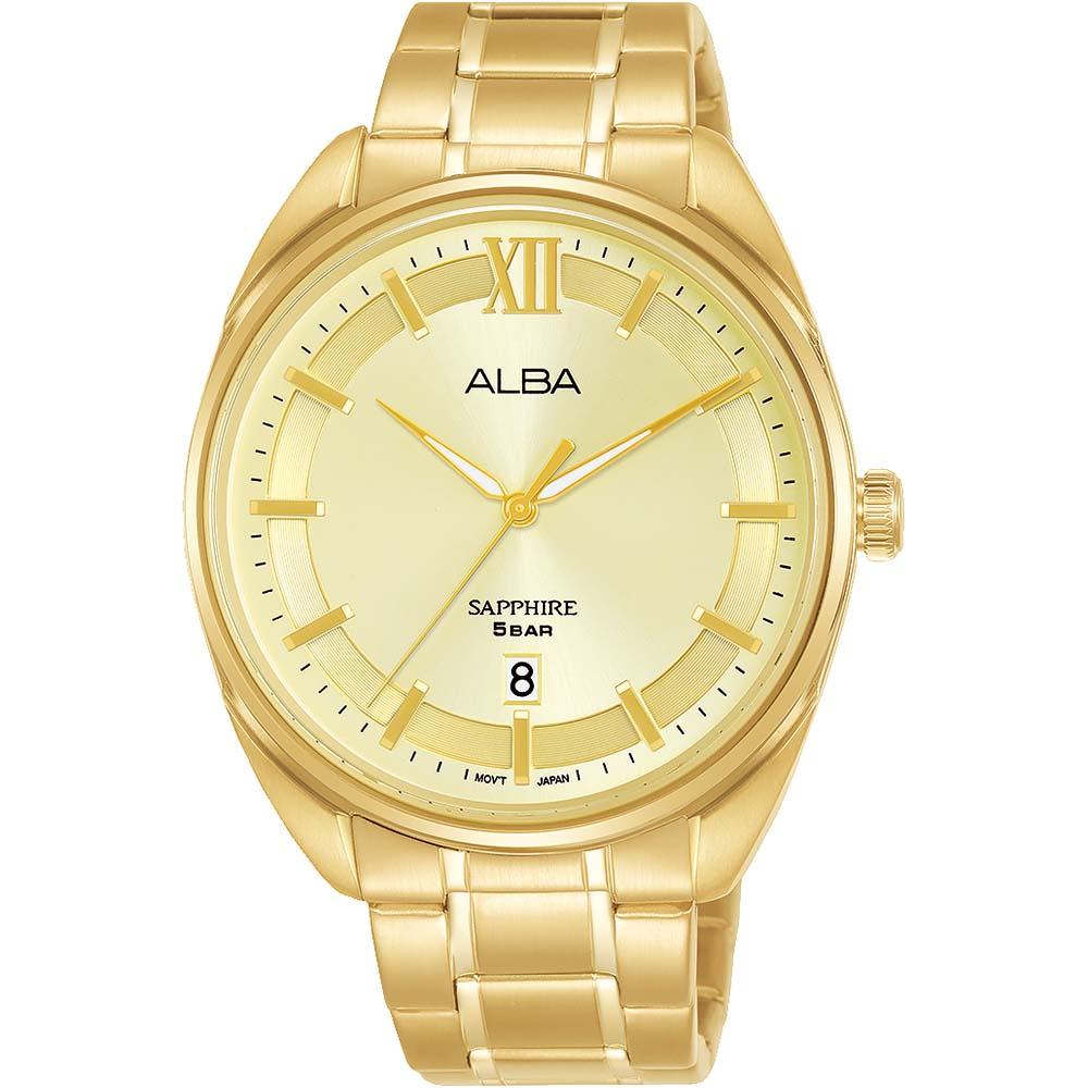 Alba AS9M44X1 Gold Tone Mens Watch