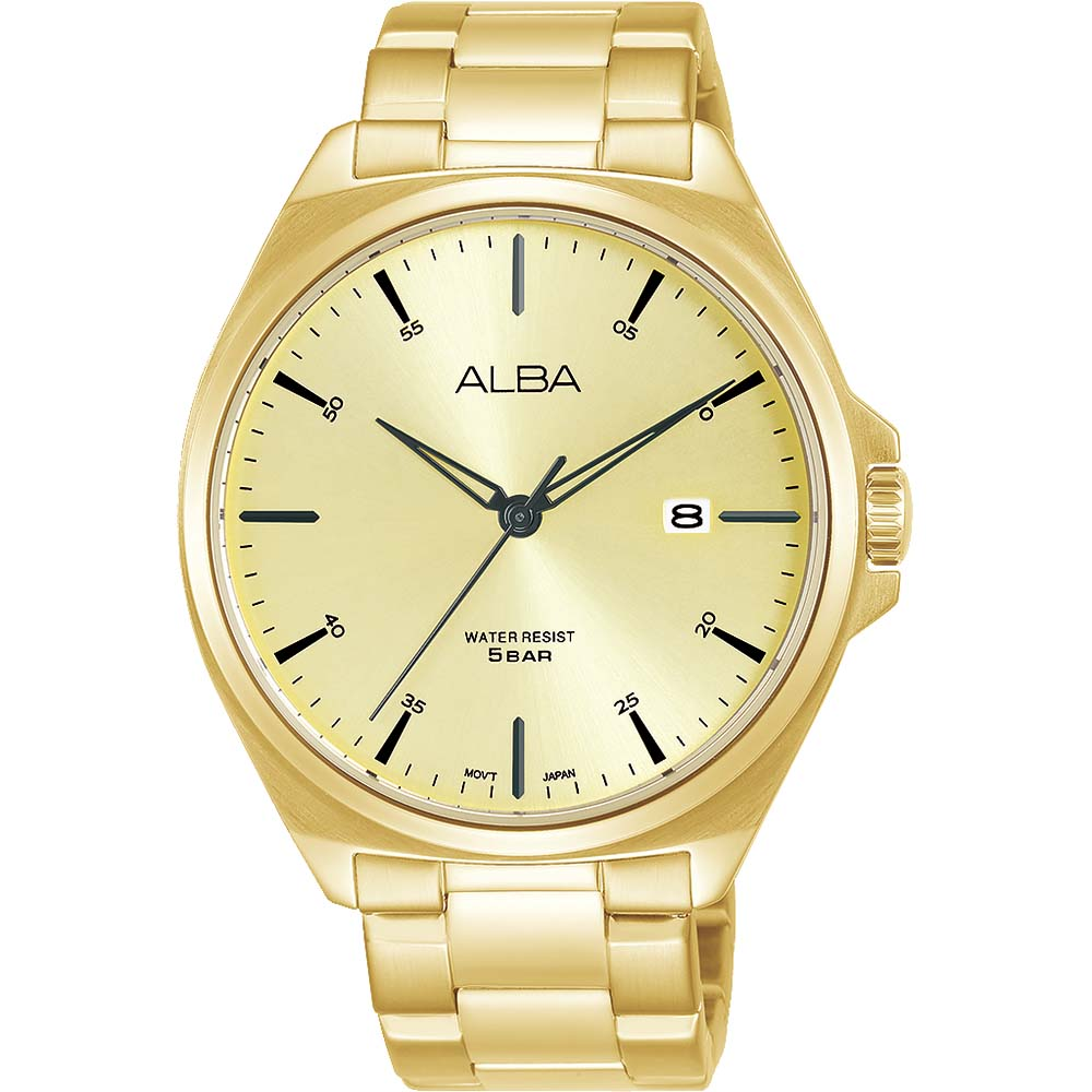 Alba AS9M60X1 Gold Tone Mens Watch