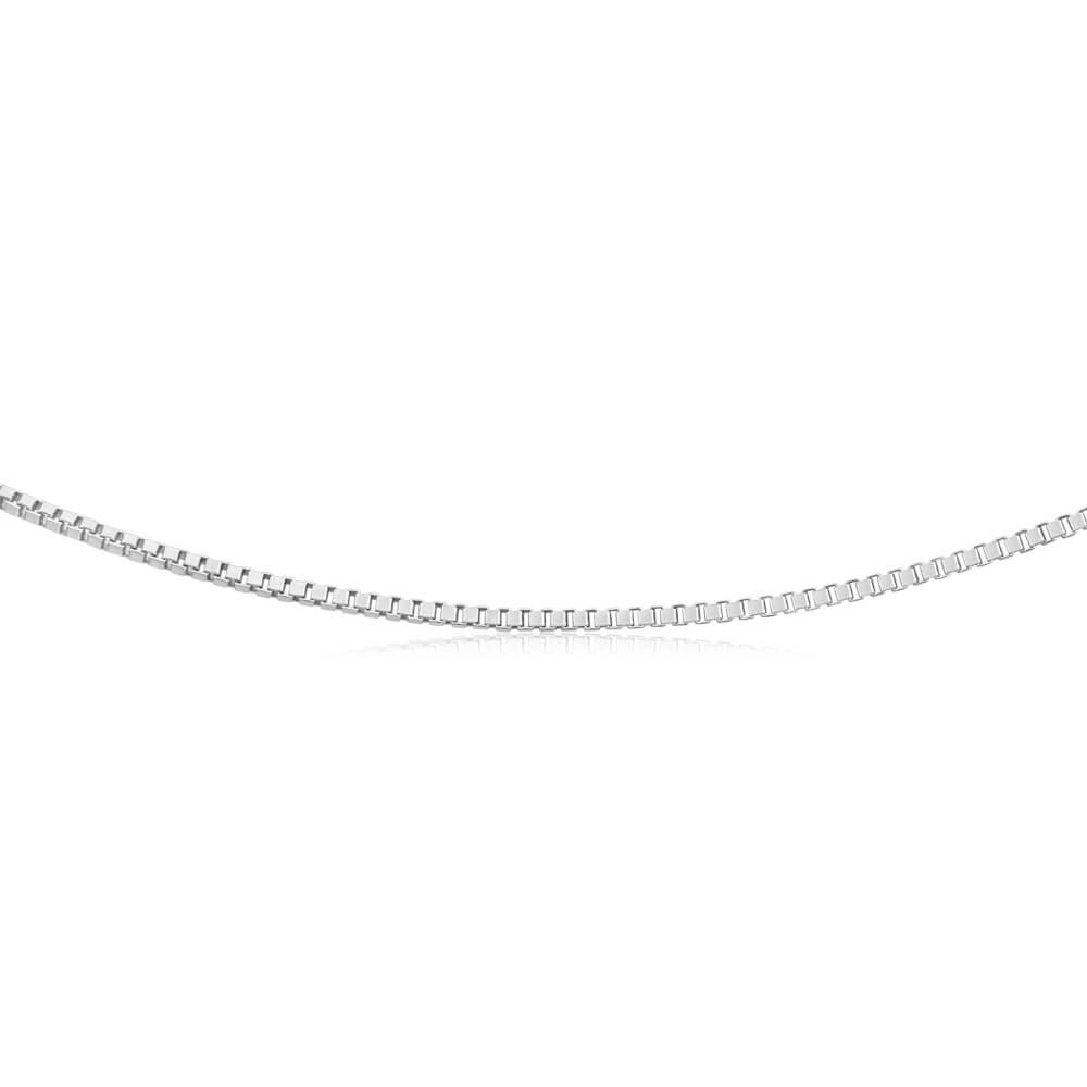 Sterling Silver 90 Gauge 44cm Box Chain