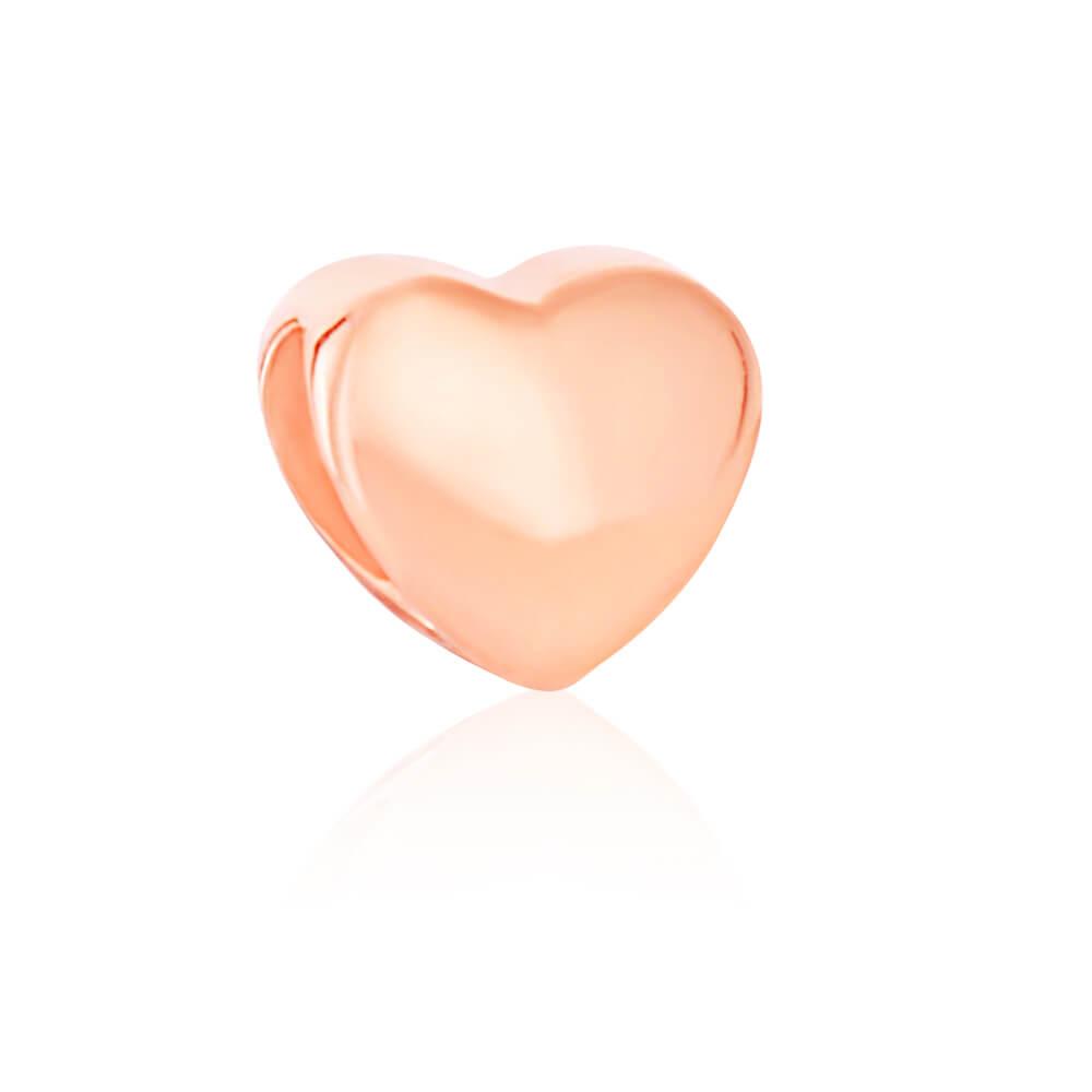 Amadora Gold Plated Sterling Silver Fancy Heart Bracelet