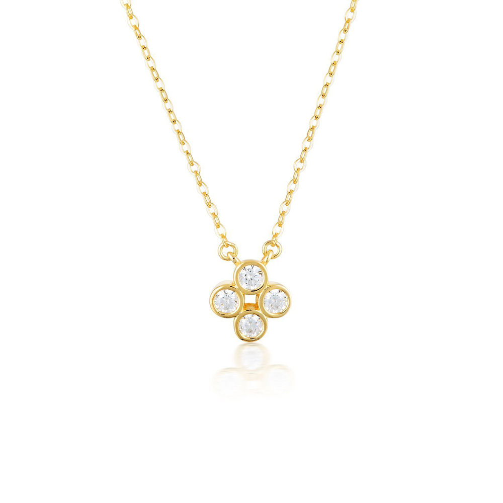 Sterling Silver and Gold Plated Georgini Stellar Lights Pendant