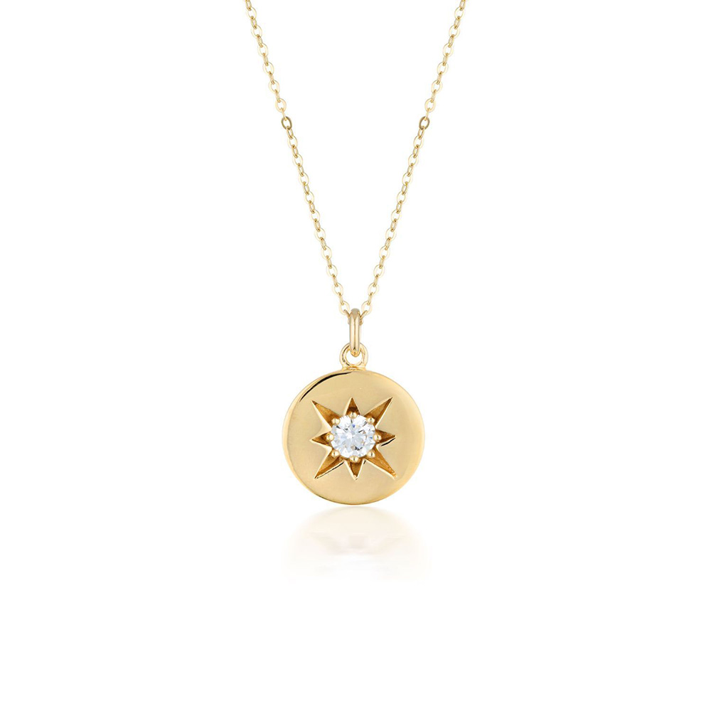 Sterling Silver and Gold Plated Georgini Stellar Pendant