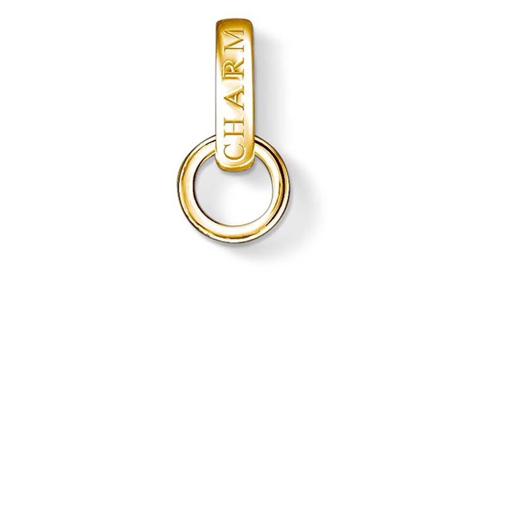 Gold Plated Sterling Silver Thomas Sabo Charm Club Yellow Carrier