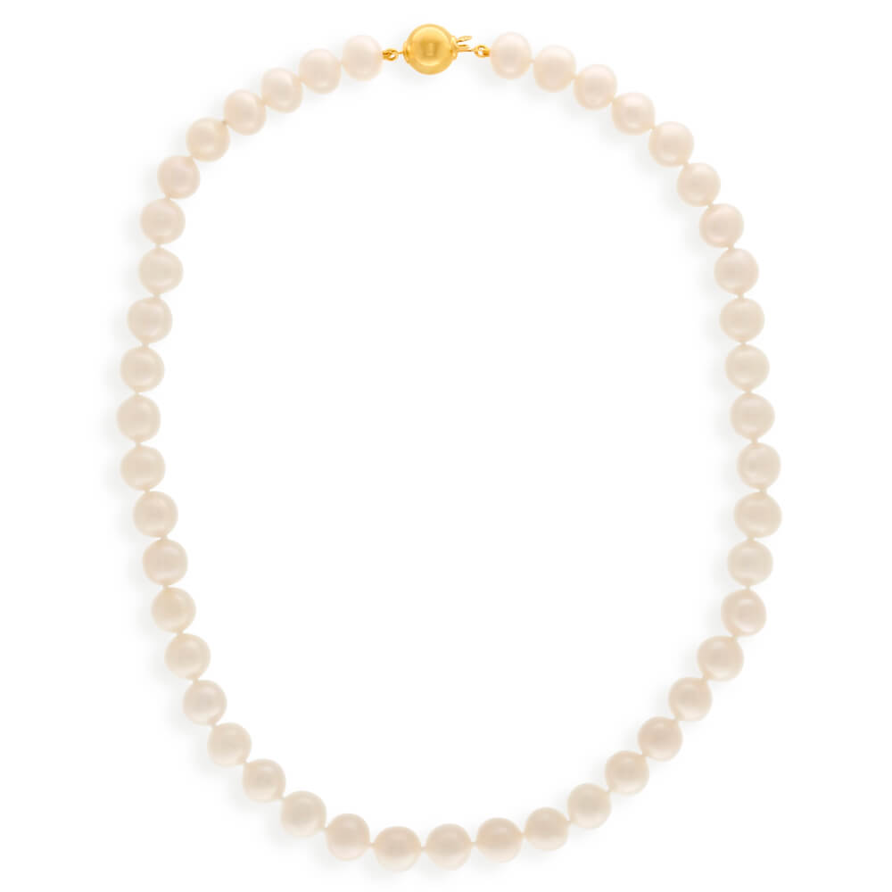 Cream Freshwater Pearl 45cm Necklace