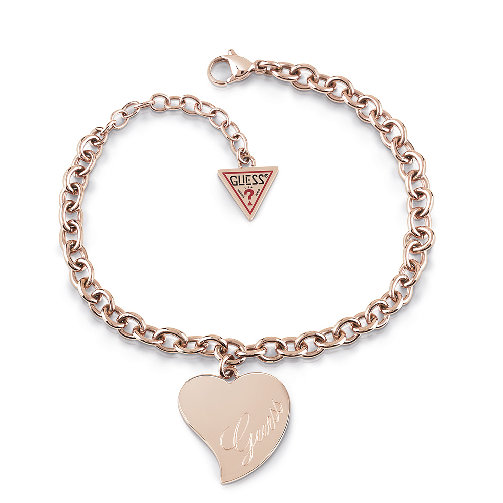 Guess Rose Plated Bracelet