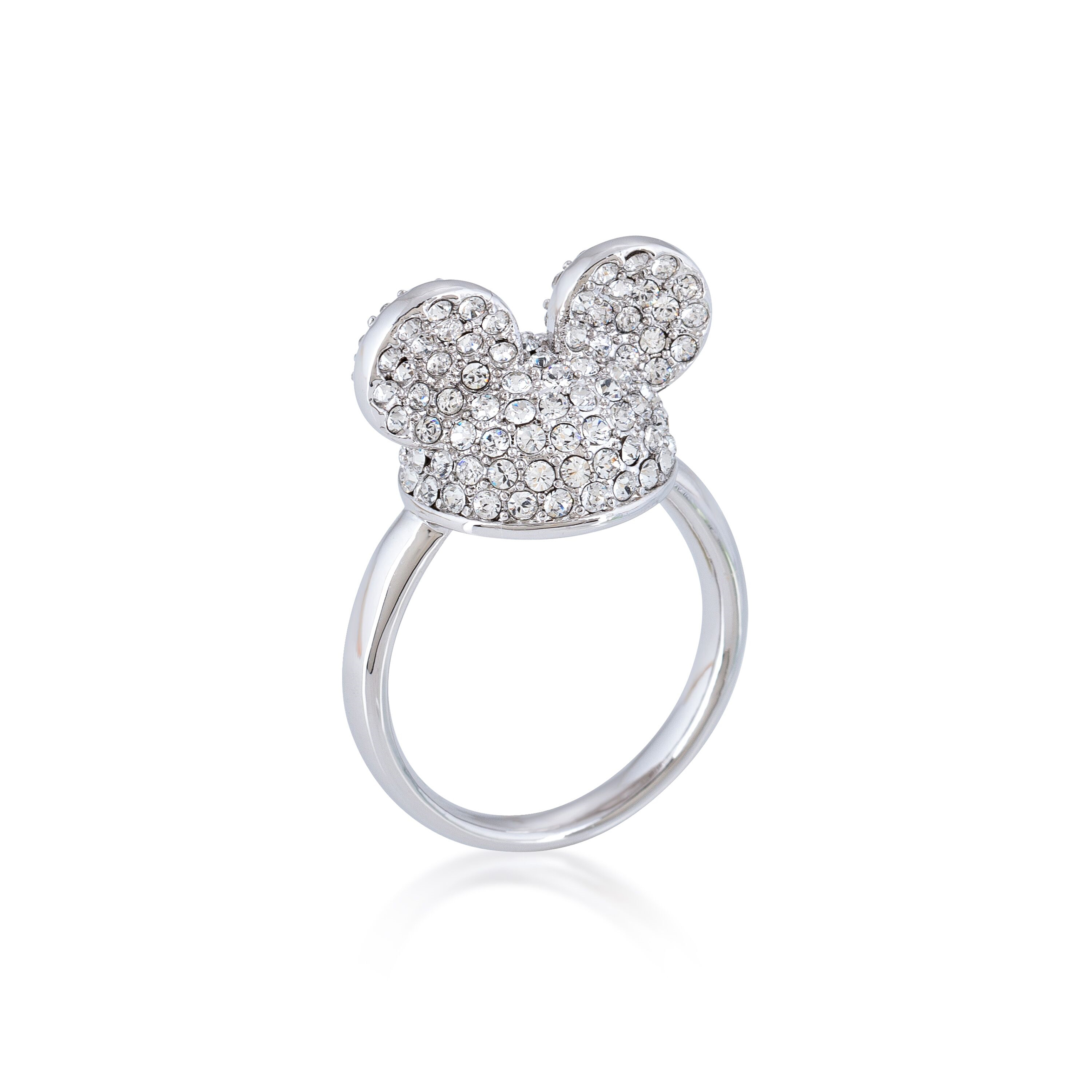 DISNEY Mickey Mouse Ears Crystal Ring  (Size M/O/Q) *NO RESIZE*
