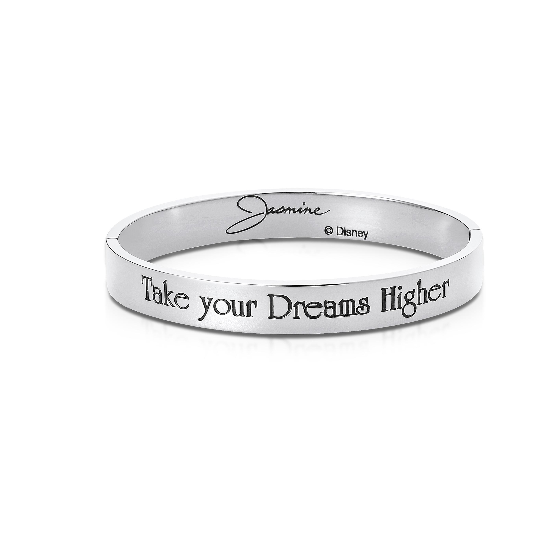 DISNEY Aladdin 'Take Your Dreams Higher' Princess Jasmine Bangle