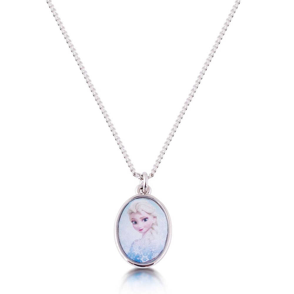 DISNEY Frozen Elsa Medallion Pendant