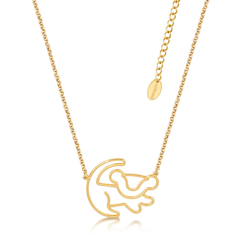 DISNEY The Lion King Simba Silhouette Pendant