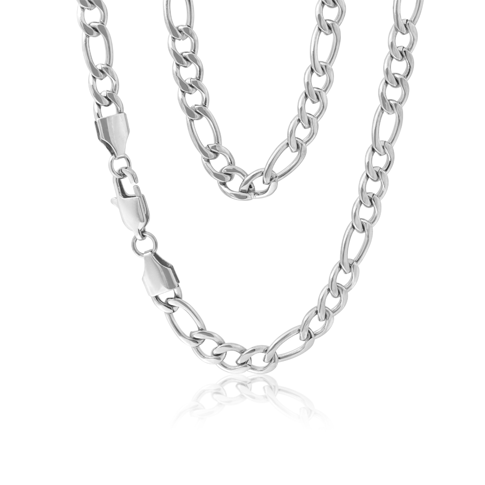 Stainless Steel Figaro 1:3 Chain