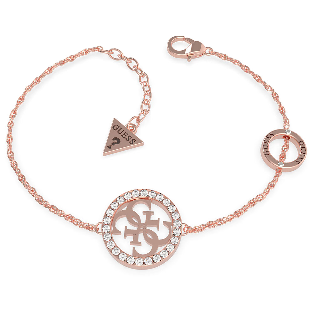 GUESS Circle and Pave 4G Bracelet
