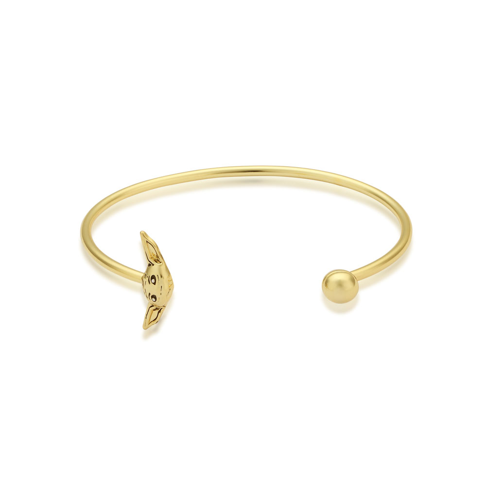 Disney Star Wars Gold Plated The Mandalorian The Child 60mm Bangle